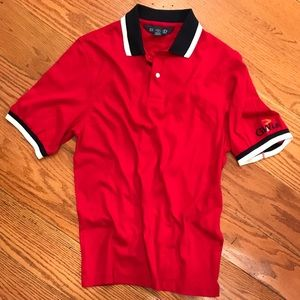 NWOT Lands' End Polo, Red